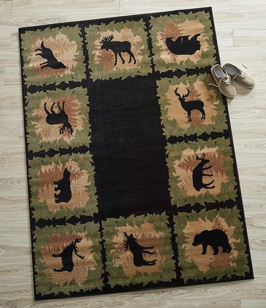 Wild in the Woods Area Rug Collection