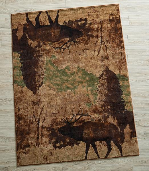 Wanderer of the Woods Area Rug Collection