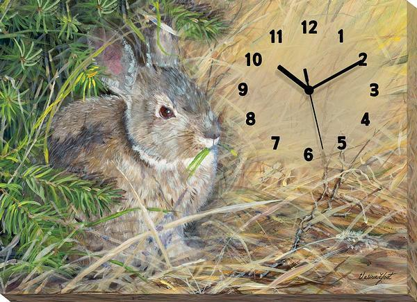 Peter Cottontail Canvas Clock