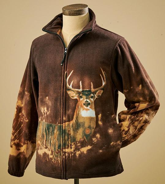 Whitetail Deer Fleece Jacket