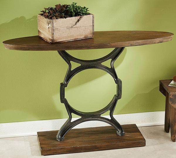 Revolution Oval Entry Table