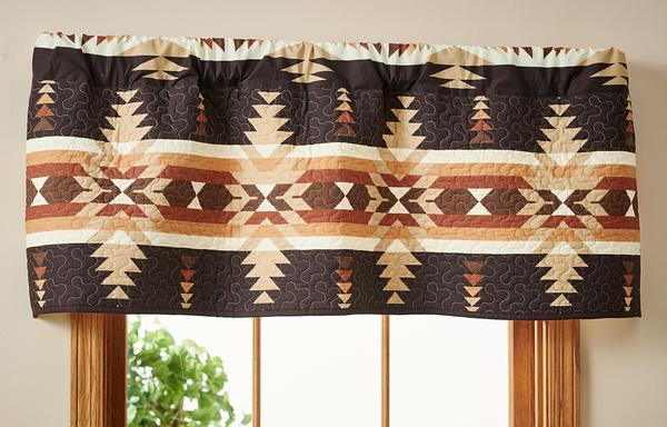 Trading Post Timber Valance