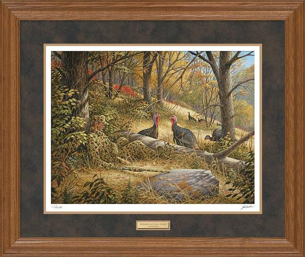 You Snooze, You Lose-Turkey Hunter Art Collection