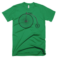 Classic Penny Farthing on American Apparel Unisex Short-Sleeve T-Shirt