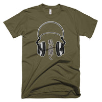 I Listen on US made American Apparel tshirt