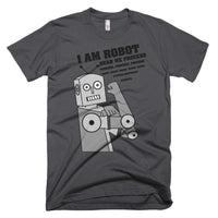 I am Robot Hear me Process Process Process, Error Error Error, System Shutdown, Goodbye