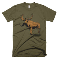 Moosestache on American Apparel Unisex T-shirt