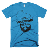 Keep Wisconsin Beard on US made American Apparel