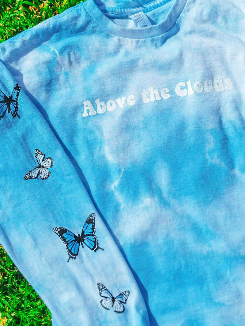 Above The Clouds Long Sleeve - dripcreation