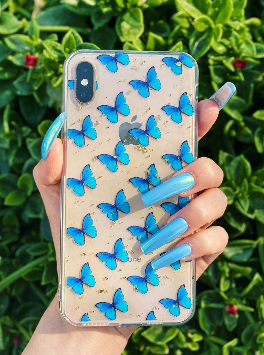 Blue Butterfly iPhone Case - dripcreation