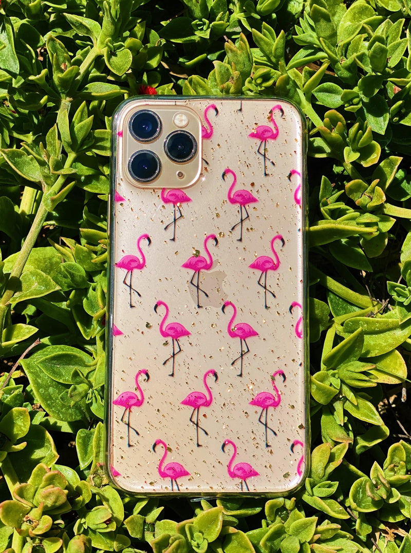 Flamingo iPhone Case - dripcreation