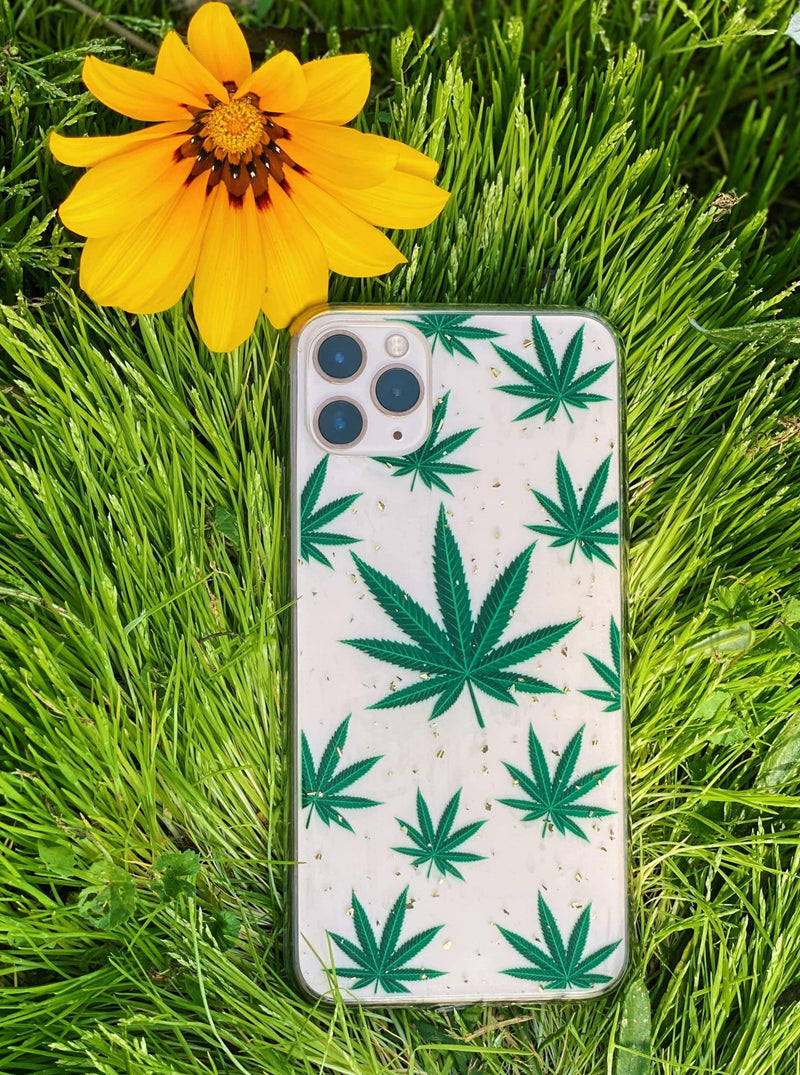 Green 420  iPhone Case - dripcreation