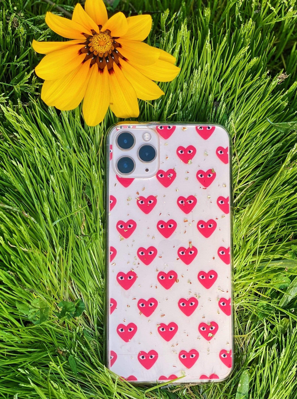 Red Heart  iPhone Case - dripcreation