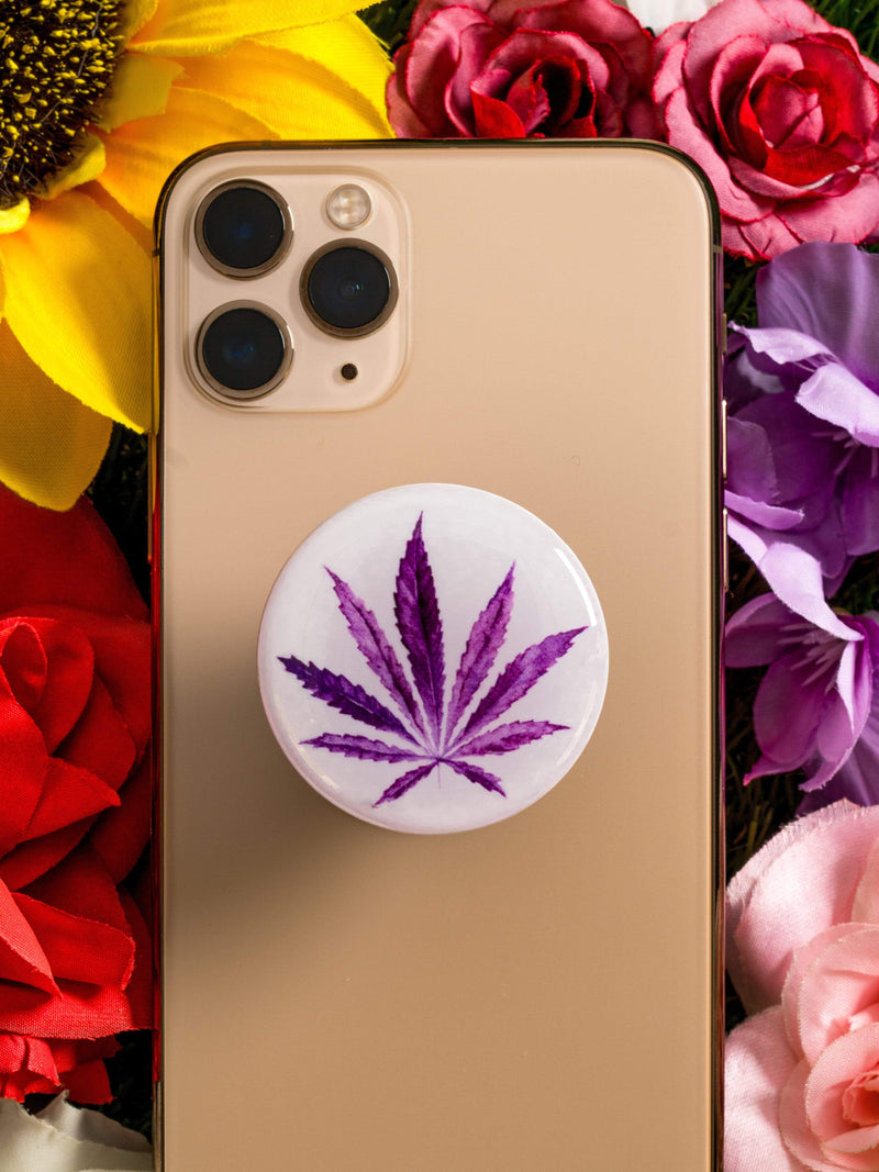 420 Phone Holder (Purple) - dripcreation