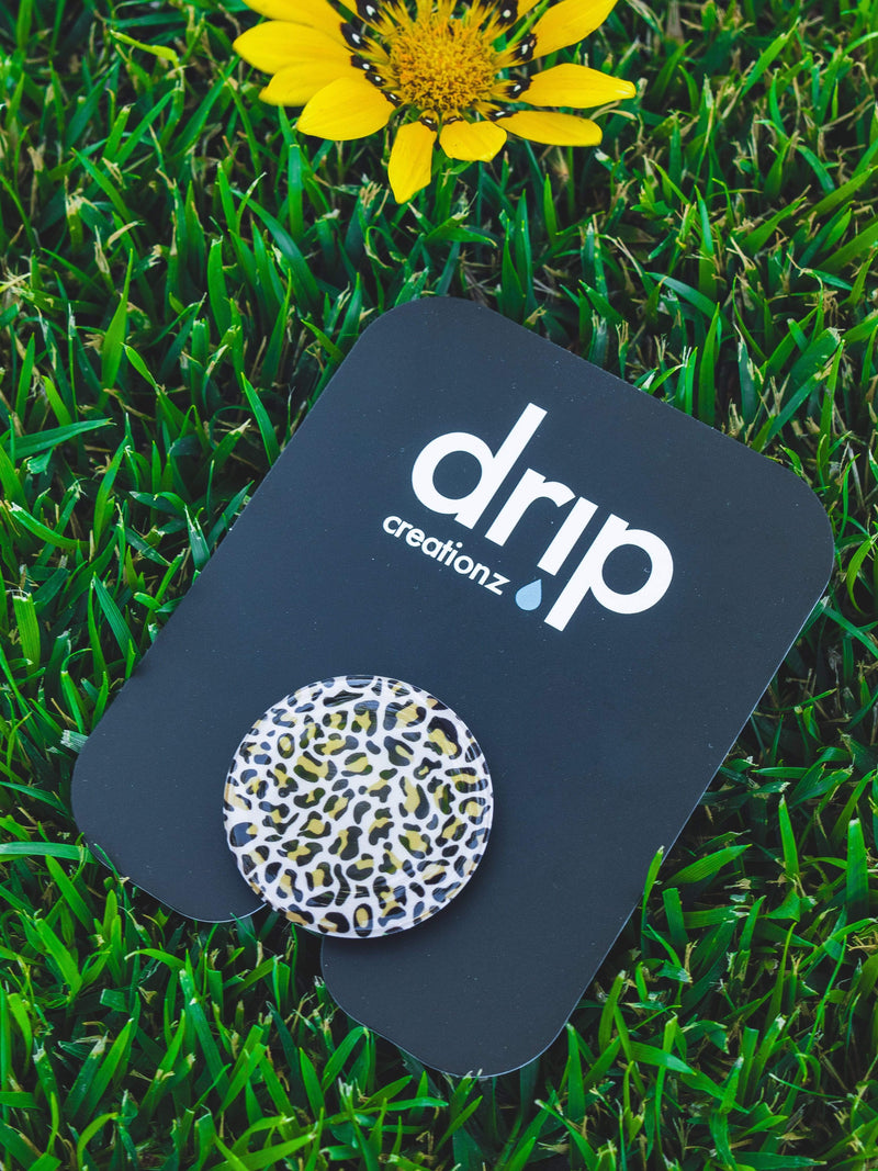 Leopard Pop Socket - dripcreation