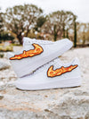 Flame Swoosh Patch - dripcreation