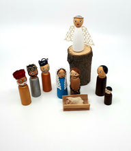 Load image into Gallery viewer, Nativity Full Set - 10 pieces