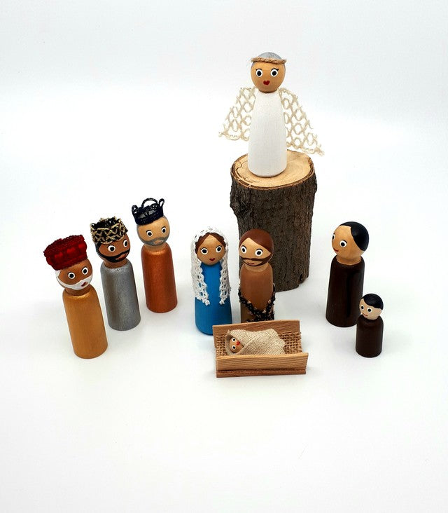 Nativity Full Set - 10 pieces