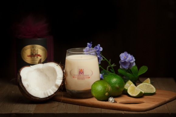 Coconut Lime Verbena Jewelry Candle