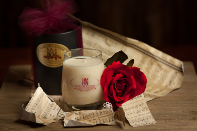 Love Spell Jewelry Candle