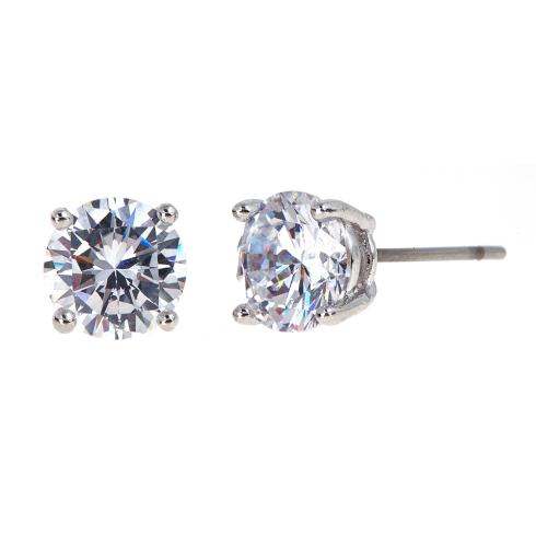 Medium Cubic Zirconia studs