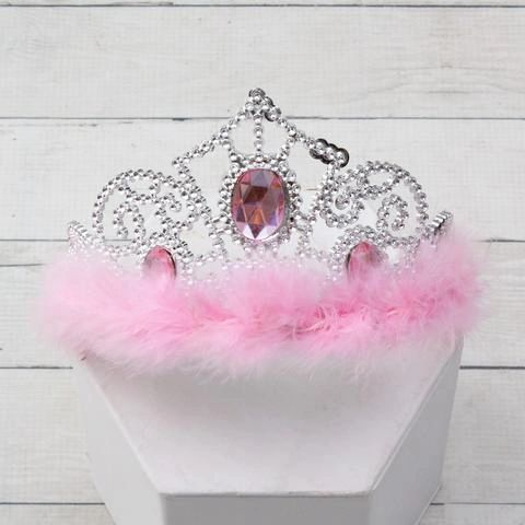 Jewel and Feather Princess Crown