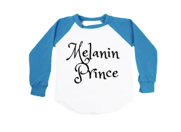 Melanin Prince & Princess Long Sleeve T-Shirt