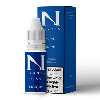 Nicotine shot 18mg by Nic Nic