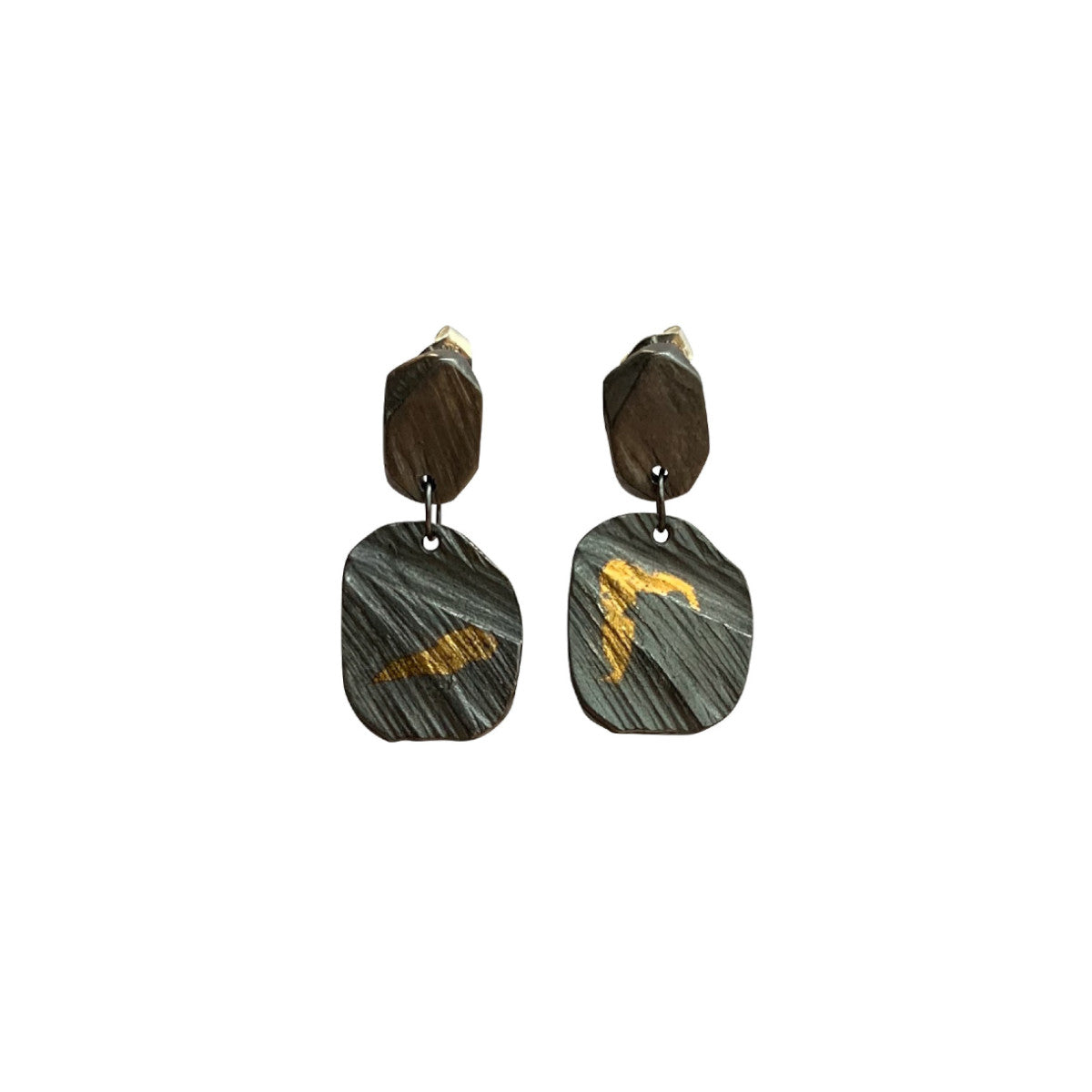 Keum Boo Square Drop Earring