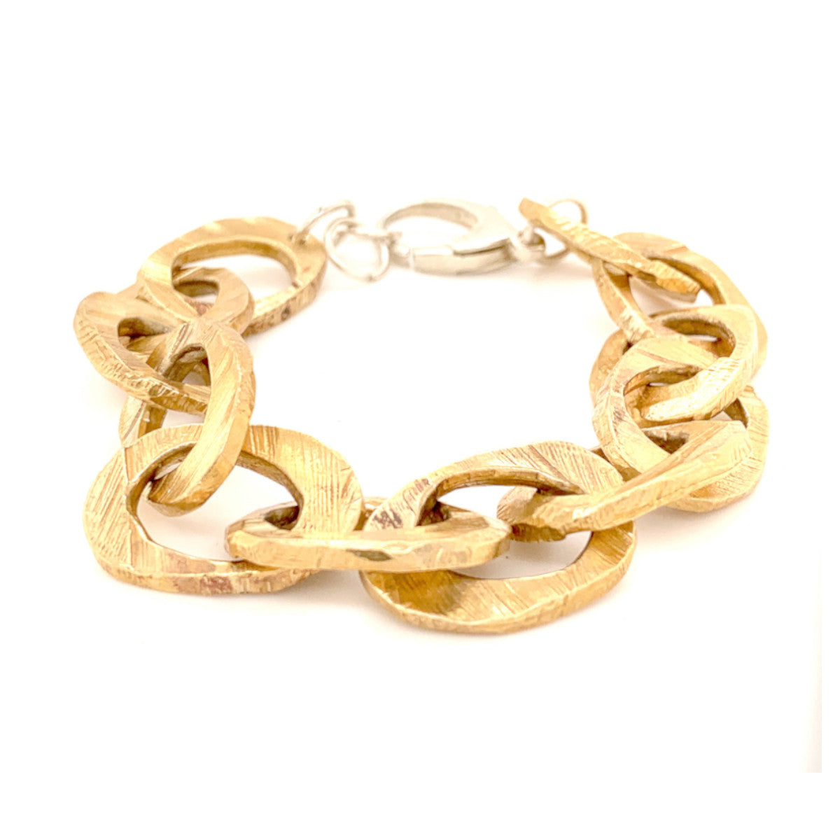 Bronze Small Link Chain Bracelet