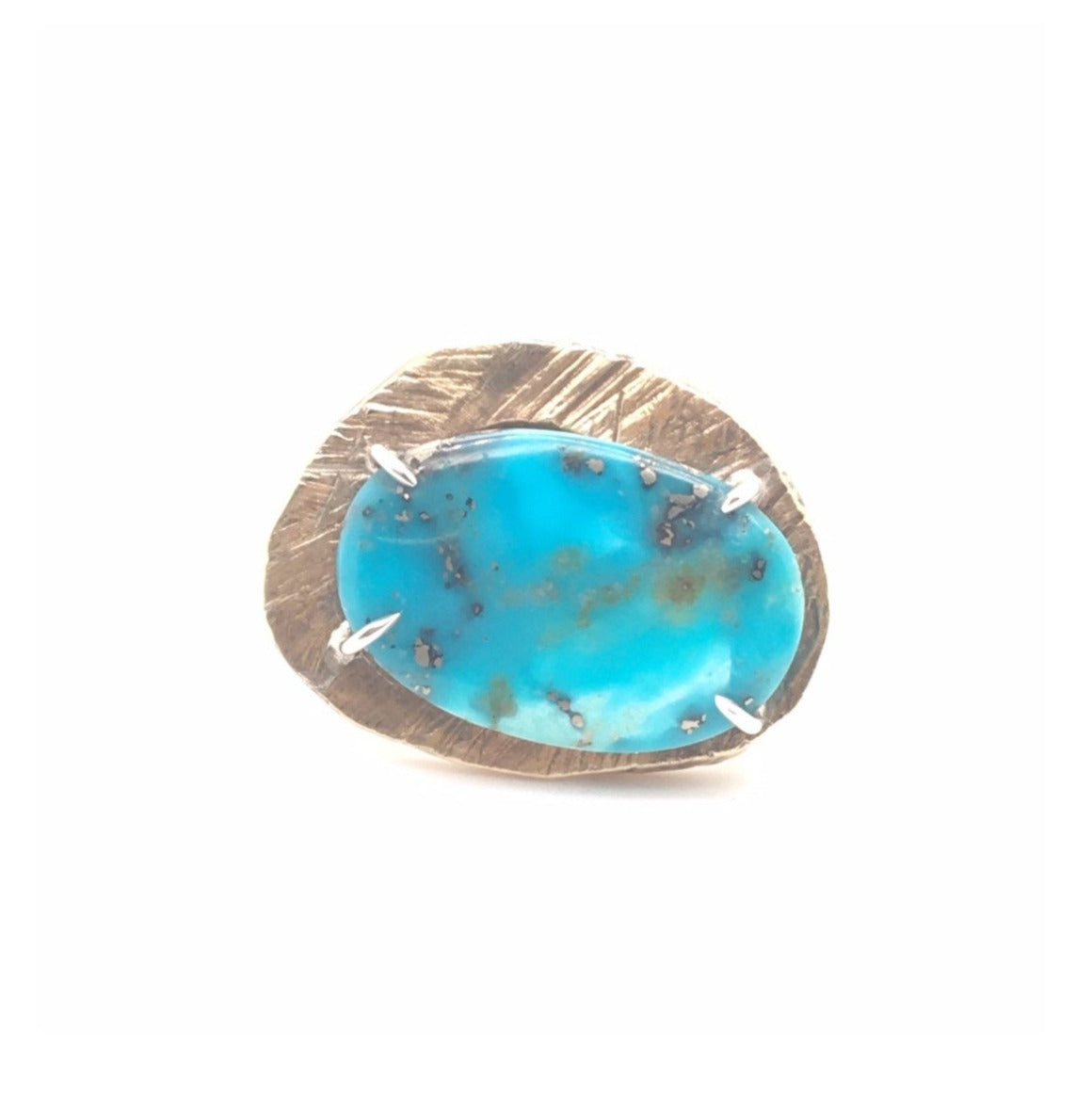 Turquoise Mystic Medium Gemstone Ring