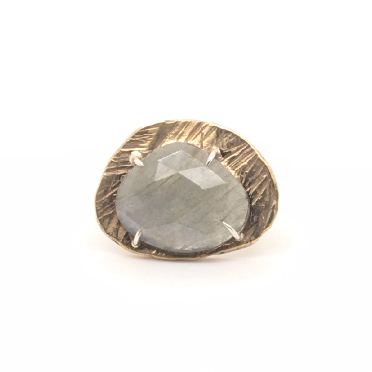 Labradorite Mystic Medium Gemstone Ring