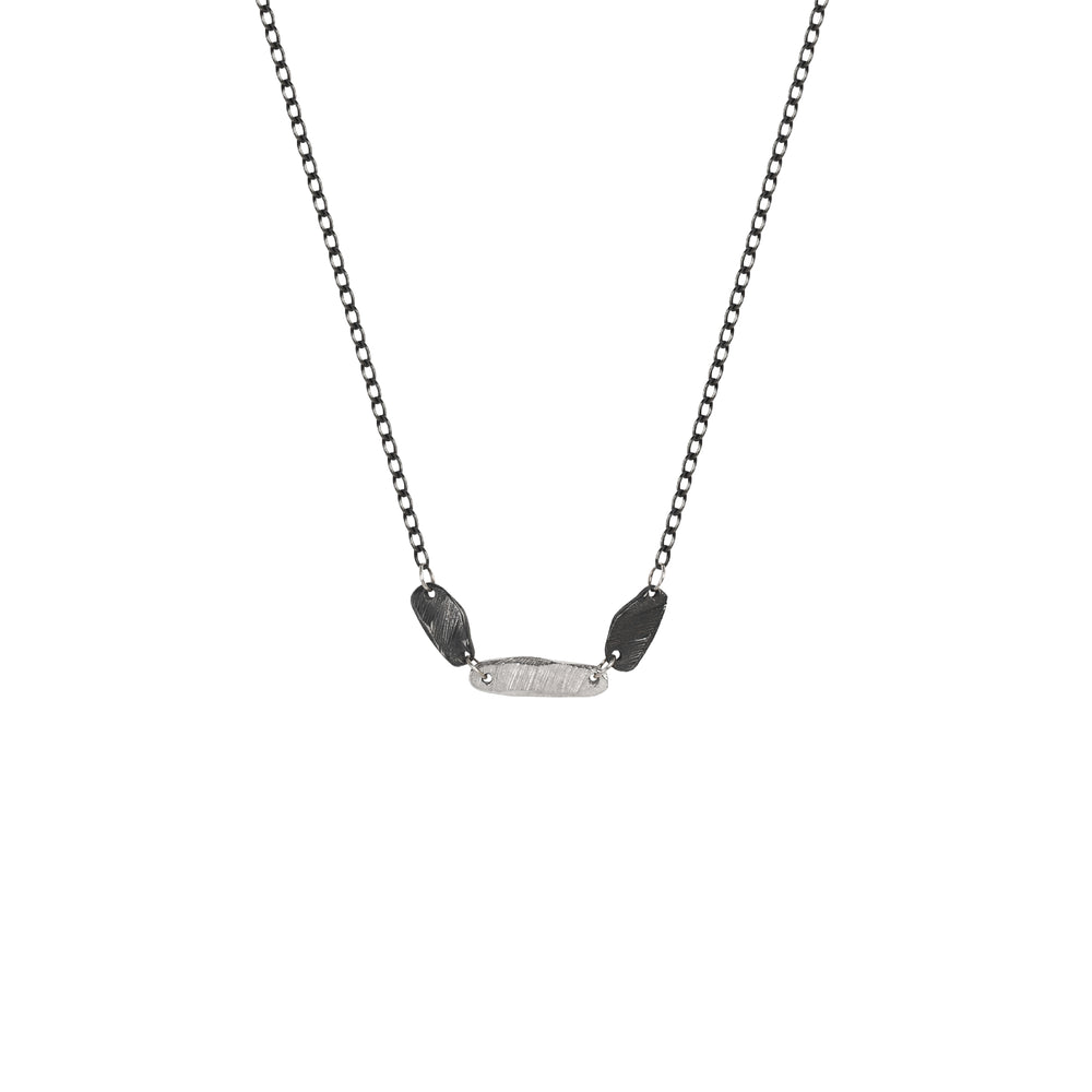 Silver Choker Necklace-Chikahisa Studio