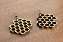 Load image into Gallery viewer, Honeycomb Earrings