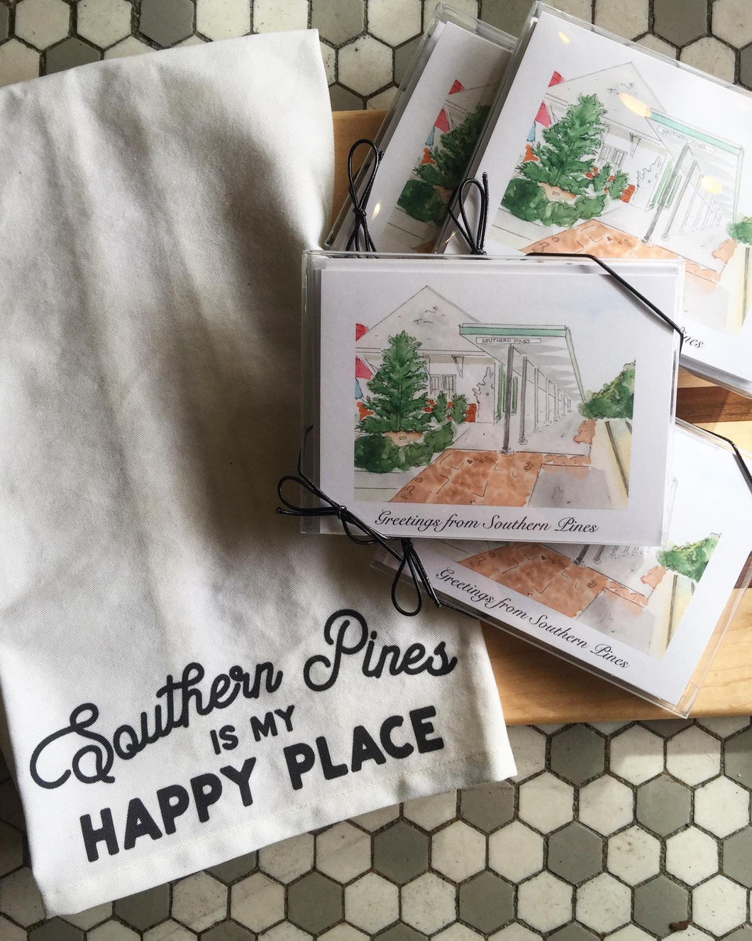 Southern Pines Cards - Set of 5
