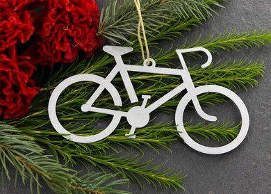 Metal Bicycle Ornament
