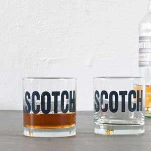 Scotch Rocks Glass