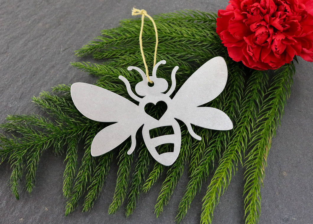 Bee Metal Ornament