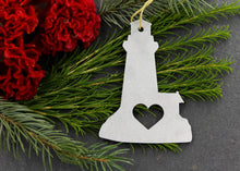 Load image into Gallery viewer, Lighthouse Metal Ornament