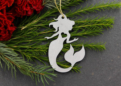 Metal Mermaid Ornament