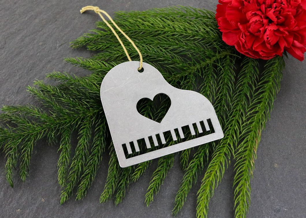 Piano Metal Ornament