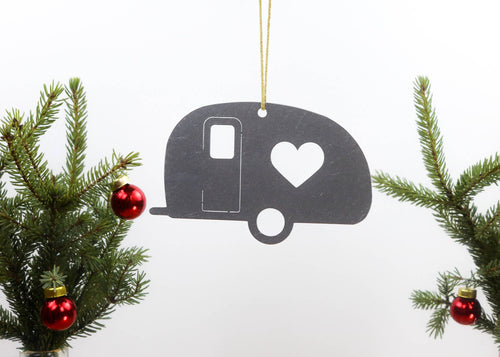 Camper Metal Ornament