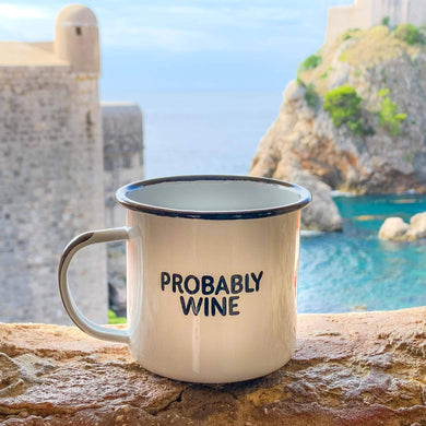 Probably Wine | Enamel Mug