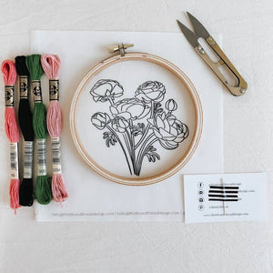 Modern Embroidery Kit - Multiple Styles
