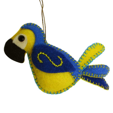 Felt Toucan Ornament