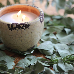 Ceramic Mosquito Repellent Candle