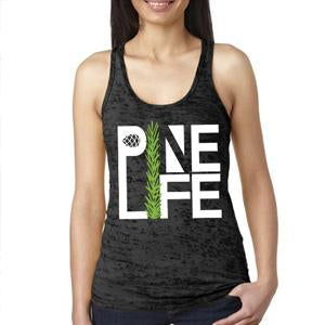 Pine Life Burnout Tank Top
