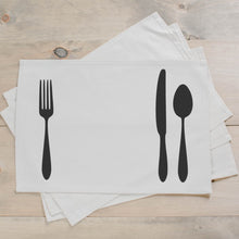 Load image into Gallery viewer, Utensils Placemat