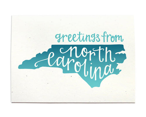 Greetings From NC Card