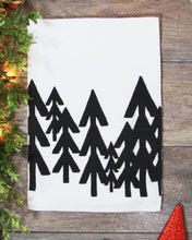 Load image into Gallery viewer, Modern Pine Tree Towel